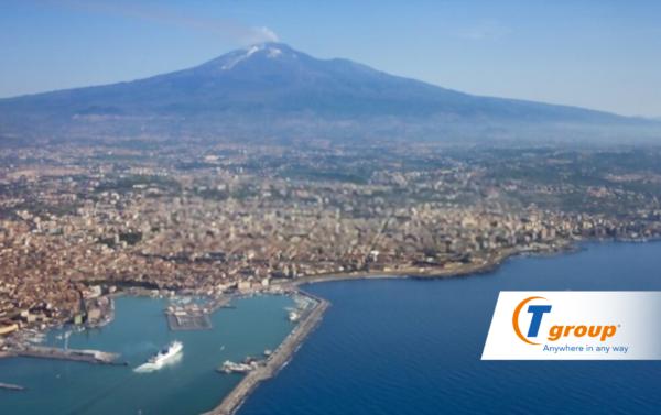TGROUP ARRIVA IN SICILIA: APRE L'HUB DI CATANIA